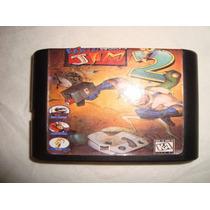 Sega Cartucho Cartridge Earth Worm Jim 2 En Caballito