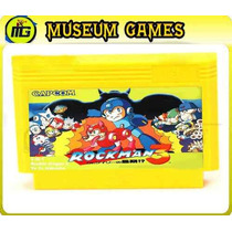 Rockman 3 (megaman) Cart (3 In 1) Family Game Loc Cap Gtia