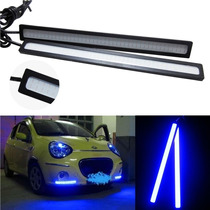 Luces Led Antinieblas Azules Auto Tuning Daytime Waterpoof