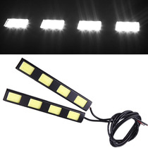Luces Faros Cob 4 Leds Auxiliares Auto Tuning Daytime