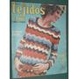 Revista Moda Tejidos 54 Detalles Tapa Figurin Pullovers Ropa