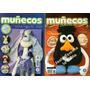 Revista Muñecos Y Juguetes En Tela Lote X 15, Moldes, Nuevas