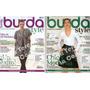 Revista Burda Style - Lote X 8 - Nuevas, Con Moldes