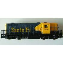 Locomotora Santa Fe- Ho- Marca Ahm De Coleccion