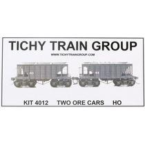 Lote/pack 2 Vagones H0 Mineros - Oro Kit Ttg 4012 - Nuevo