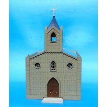 Serie Hogares Argentinos-iglesia De Pueblo-nvm Hobbies
