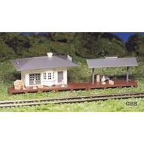 Llm - Estacion De Trenes Con Anden - Bachmann 45173 - H0