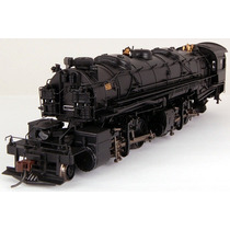 Bachmann Spectrum 2-6-6-2 Dcc Painted Unelettered Black