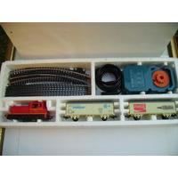 # Lima Set De Carga -loco+2 Vagones+acc Listo Para Usar 220v
