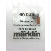 Marklin 60035, 600350. Escobillas O Carbones P/locomotoras.