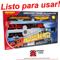 Equipo Basico Ferromodelismo Tren Electrico Compatible Lima