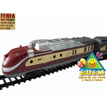 Locomotora Tren Bala Fenfa Esc. 1:87 5 Vagones Video Jiujim