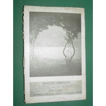 Libro Firmado Ernesto Morales Sayal De Mi Espiritu Rodo 1914