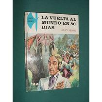 Libro Vuelta Al Mundo 80 Días Julio Verne Maves España 1975