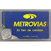 Caja Expendedora De Cospeles De Metrovias Con Un Cospel