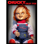 Chucky El Muñeco Maldito! 80cm! Pelo Sintetico Y Ropa Real !