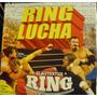100 % Lucha Ring + 10 Muñecos Coleccion Completa