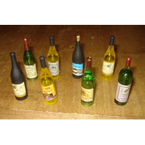 Botellas De Vino Para Figuras De 1/6 Por Unidad!!