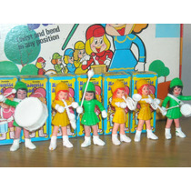 Lote Retro De Muñecas Majorette-banda Musical-rosario