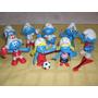 Los Pitufos Set X8 Figuras Nuevo ! Simil The Smurfs Pitufina