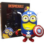 Mi Villano Favorito Despicable Me - Minion Captain America