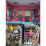 Casa De Muñecas De Madera Monster Hight Hermosa Oferta!