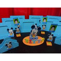 Mickey Minnie Souvenirs Infantiles Portarretratos Cajas
