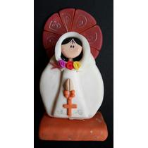 Virgen Rosa Mística | Porcelana Fría | De Venezuela