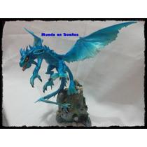Dragones En Porcelana Fria