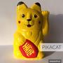 Gato De La Fortuna Suerte Pikachu - Pokemon Pintados A Mano