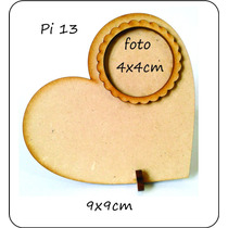 Portaretrato Souvenir Corazon, Fibrofacil 3mm