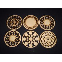 Mandalas X5 Caladas Laser Fibrofacil Maderarte