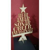 Arbol Deseos Navidad Fibrofacil Con Base