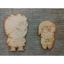Figuras De Fibrofacil Mdf. Disney, Paka Paka, Jake, Yoda