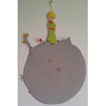 Cartel Cumpleaños - Principito Y Asteroide - Goma Eva 70 Cm