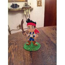 Souvenirs Y Centro De Mesa De Jake Y Los Piratas...