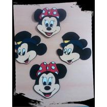 Mickey - Minnie - Goma Eva - 10cm