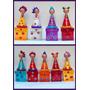 Cajas De Madera Y Muñecas Coquitas De Porcelana Artesanales