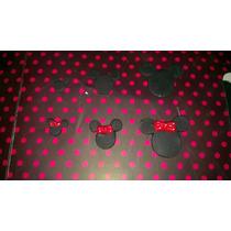 Apliques Mickey En Porcelana Fria