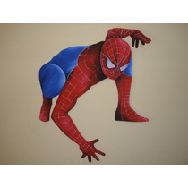 Figuras En Goma Eva Superheroes