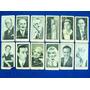 12 Figuritas De Cigarrillos Fontanares * Teatro Cine Radio *
