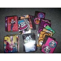 Lote 67 Figuritas Distintas Monster High - No Envio