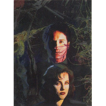 X-files Season 1 Etched Foil Chase Card By Miran Him # I5