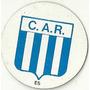 Figurita Futbol - Chapa - Chapicolor - Escudo Racing Club -