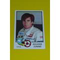 Figurita F1 Grand Prix 1980#58 Ricardo Zunino Edicion Italia