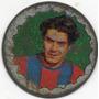 Figurita-futbol- San Lorenzo Chapitas 1970 De Chapa Albrecht