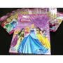 Lote De 18 Sobres Cerrados Cartas Disney Princesas + 1 Mazo