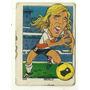 Figurita Campeones Futbol Caricatura Merlo River 1976