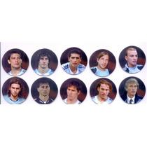 Lote 10 Tazos Cromos Mundial Alemania 2006 Carrefour Futbol