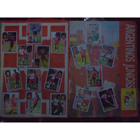 Lote 18 Figuritas Argentinos Jrs Álbum Apertura Fútbol 93